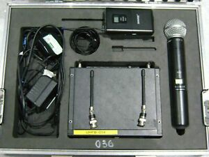Shure SLX sm58 microphe and body pack Wireless / Radio Microphone unit