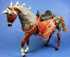 Medieval horse with mail - 1/12 scale reproduction