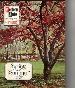 1972 Western Auto Spring and Summer Catalog - Bicycles, sports equipment; Mowers
