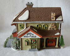1992 Retired Department 56 Bluebird Seed & Bulb New England Village Series