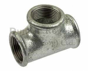 Malleable Iron Equal Tee Fittings with Female BSP Threads