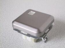 KOPP Wechselschalter beleuchtbar AMBIENTE platin-silber UP Unterputz Schalter