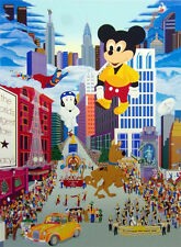 "Melanie Taylor Kent ""Macy's Thanksgiving Day Parade"" Hand Signed Micky Mouse NR!"
