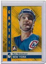 RON GRESCHNER 11/12 ITG Captain C GOLD Parallel New York Rangers /50 #74 SP