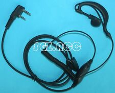 For Kenwood Clip Ear Earpiece Headset Mic TH-22E TH-25 TH-25A TH-26 TH-26A TH-27