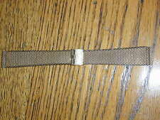 New Old Stock Gold Plated Weave Watch Band-Duchess Made in US LeJour Coin Band