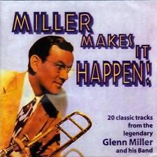 GLENN MILLER - MILLER MAKES IT HAPPEN! (NEW SEALED CD)