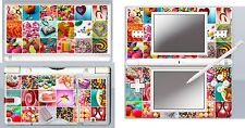 nintendo DS Lite - CANDY - SWEETS - 4 Piece Decal Sticker Skin
