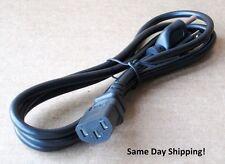 New 6 Ft. Behringer NOX202 NOX303 NOX404 NOX1010 A/C Power Cord Cable Plug