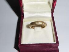 Anillo Oro 585 14k Oro Amarillo Anillo de Bodas Alianza Tamaño 57-18 mm 710