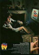 Publicité ancienne téléviseur Philips 1970 issue de magazine