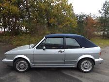 VW GOLF 1 CABRIO CAPOTE CABRIOLET ALPAGA BLEU NEUVE