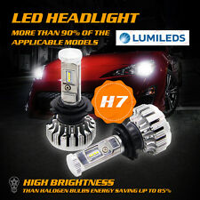 16000Lm 160W Upgrade Led Headlight Kit H7 High Power 6000K White Bulb Error Free (Fits: Rabbit)