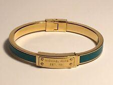 BN Genuine Michael Kors Gold Tone Leather Embossed bracelet RRP £89