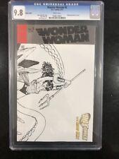 WONDER WOMAN # 5 Wraparound Sketch! / New 52! / CGC 9.8 / March 2012 / DC COMICS