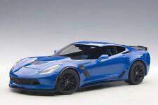 Autoart 71265 - 1/18 Chevrolet Corvette C7 Z06 2014 - Laguna Blue Tintcoat - Neu