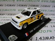 voiture Del prado 1/43 : RENAULT 5 TURBO tour de France Auto 1984 J.Ragnotti #3