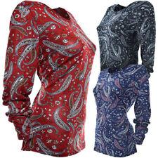 Normalgröße gepunktete Damenblusen, - Tops & -Shirts in Größe 42