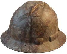 Pyramex Full Brim RIDGELINE Hard Hat Camo Pattern - 6 Point Suspension