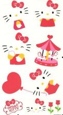 HELLO KITTY wall stickers 9 decals Sanrio cat kitten child's room decor nursery