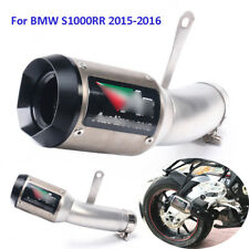 Motorcycle Exhaust System Tip Exhaust Pipe Slip On Pipe For BMW S1000RR 2015-16