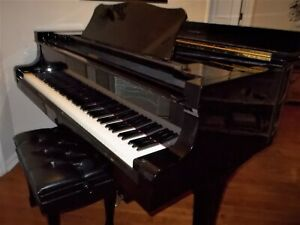 "Yamaha C7 Metropolitan Opera 7'4"" Concert Grand Piano (1988) Top Condition"
