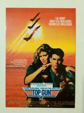 Carte postale cinéma extrait film TOP GUN Tom Cruise Kelly McGillis