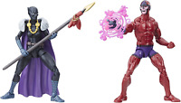 Hasbro Marvel Legends Series Black Panther Comic Figures Shuri and Marvel's Klaw