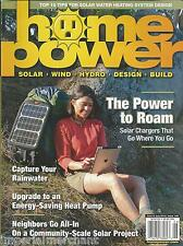 Home Power Magazine Solar Chargers Rainwater Heat Pump Community Scale Project