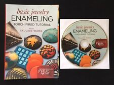 DVD Only! Basic Jewelry Enameling Torch Fired Tutorial with Pauline Warg