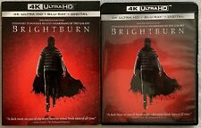 BRIGHTBURN 4K ULTRA HD BLU RAY 2 DISC SET + RARE OOP SLIPCOVER SLEEVE BUY IT NOW