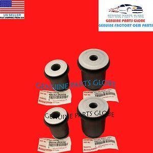 GENUINE OEM TOYOTA 08-21 SEQUOIA TUNDRA FRONT LOWER CONTROL ARM BUSHING SET