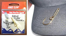 EAGLE CLAW HAT HOOK NEW! Hat Pin/Tie Clasp GOLD PLATED FISH HOOK HAT PIN
