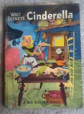 Walt Disney's Cinderella, Publication Year: 1950, Hardcover, Children's Lit