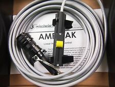 """CK TIG Torch Amperage Control LINCOLN Amptrak 10K 6 Pin 28"""" cable OZZY SELLER"""