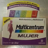 MULTICENTRUM MUJER COMPRIMIDOS