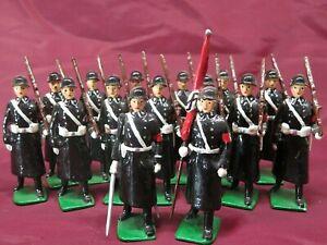 REGIMENTS OF THE WORLD #196 GERMAN 3RD REICH SCHUTZSTAFFEL TOY SOLDIERS       28