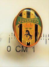 Juventus Torino Football Club crest badge pin anstecknadel zebra