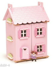 Le Toy Van H136 - Puppenhaus Haus - My First Dream House + 30 Teile Möbel Set