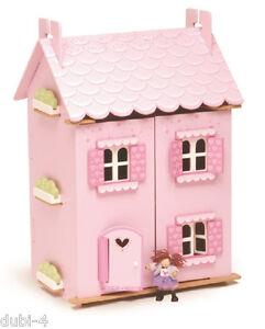 Le Toy Van H 136 - Puppenhaus Haus - My First Dream House + 30 Teile Möbel Set