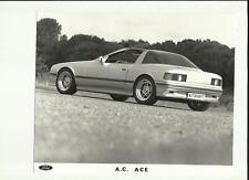 """Ford Autokraft a.c. ace press photo et communiqué de presse """"brochure"""" octobre 1986"""