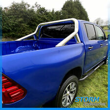 TOYOTA HILUX MK8 2016 ON DOUBLE CAB STX ROLL BAR - SPORTS BAR - STAINLESS STEEL