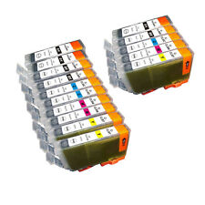 15 PK INK NON-OEM CANON PGI-5 CLI-8 IP6600D IP6700D MP500 MP510 MP520 MP530 MP60