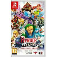Hyrule Warriors - Definitive Edition | Nintendo Switch BRAND NEW FACTORY SEALED.
