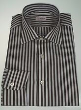 NWT ISAIA Napoli Slim Fit Dress Shirt 17 (43) ~ Made in Italy ~ NO RESERVE!