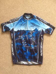 L'Alpe d'Huez Cycling Jersey Size Small