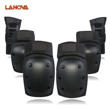6 Pcs Skating Protective Gear Cycling Knee Elbow Wrist Pad Skate for Adult Child