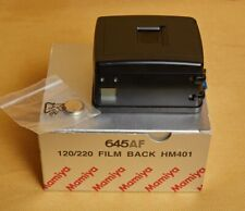 MAMIYA 645AF 120/220 FILM BACK HM401 - film back for autofocus Mamiya 6x4.5 AF