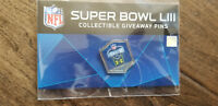 2019 WINCRAFT PROMOTIONAL SUPER BOWL 53 LIII PIN UNDER ARMOUR COMBINE 1 OF 100