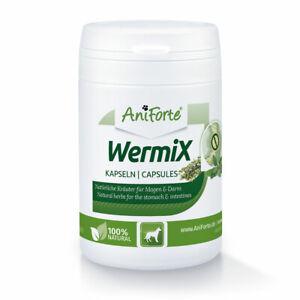 AniForte Wurm Formel WermiX Hunde 50 Kapseln Naturprodukt bei / nach Wurmbefall